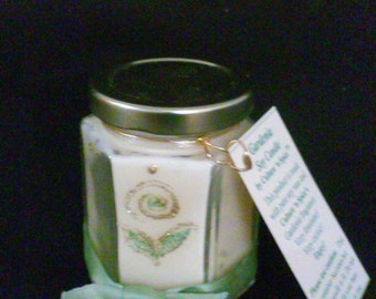 Gardenia Soy Wax Candle - Container Candle - Floral