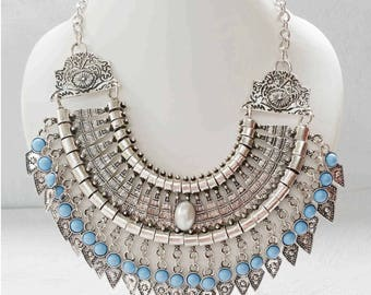 "Bohemian necklace Ethnic with the inspirations ""Persian"""
