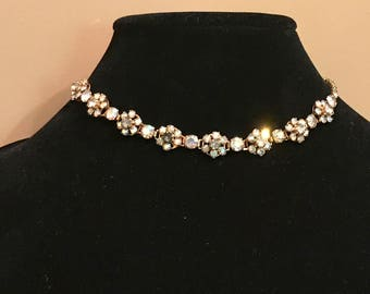 AB Vintage rhinestone necklace