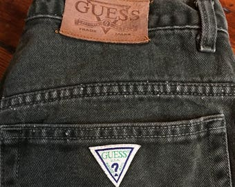 Vintage Army Green Guess Jeans