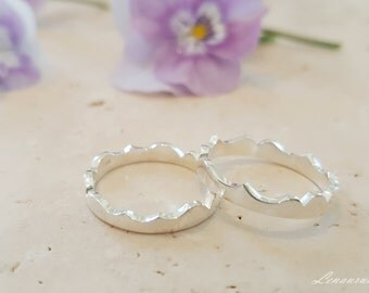 FRIENDSHIP RING// Two Halves make a Whole// Stackable Rings// Best Friend Ring//