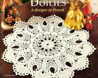 Heirloom Pineapple Doilies Thread crochet Doily books