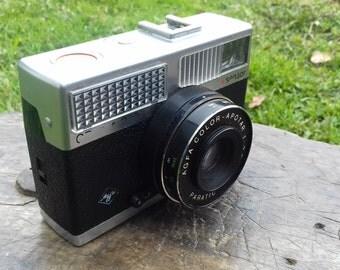 VINTAGE AGFA OPTIMA 200 Sensor Camera 1:2.8/42 in original leather case