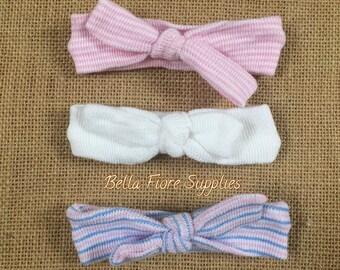Newborn Baby Headband- Newborn Hospital Headband- Soft Cotton Newborn Headband- Knot Headband