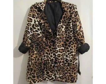 Leopard Print Leopard Print Rain Coat