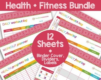 Grammar Free Worksheets Debt Snowball  Payment Tracker Printable Planner Animal Adaptations Worksheets Excel with Worksheet Printables Pdf Health And Fitness Binder Bundle  Save  Dollars  Printable Planner   Letter Size  Silent K Words Worksheets Word