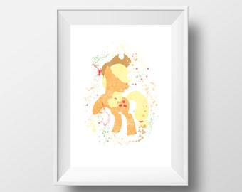 Apple jack, My little pony, Horse, Pony * Instant Download *