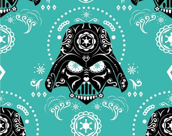 Darth Vader Fabric / Star Wars Fabric / Villain/ Rare/ Out of Production/ 8 yard Bolt/ Sale