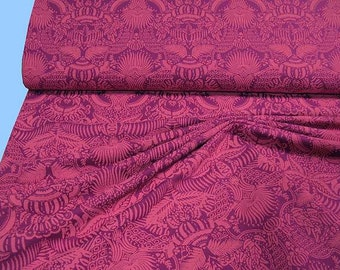 Printed SWEAT-cloth fuchsia / pink