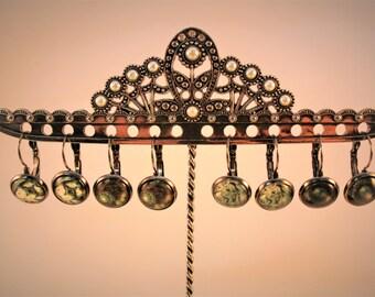 Black Hook Steampunk Earrings