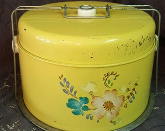 Vintage Cake / Pie Carrier