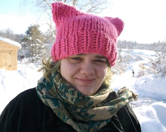 Image result for beautiful bright pink pussyhat