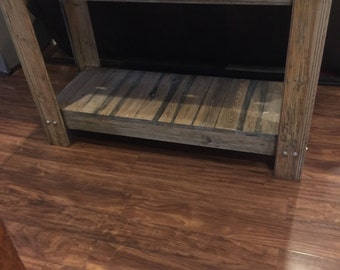 Rustic Entry Table