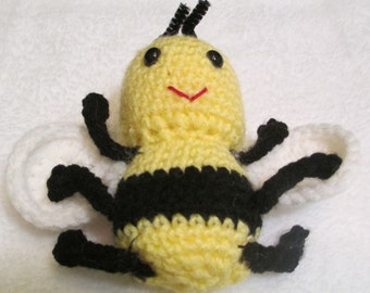 Bee/Stuffed Animal/Stuffed Bee/Kids Toy/Toy/Stuffed Animal Bee