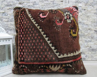 organic pillow 20x20 rug pillow natural pillow sofa pillow decorative pillow 20x20 rug pillow tribal pillow throw pillow bohemian pillow