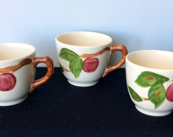 Franciscan Apple Tea or Coffee Cup - England - 3 Available!!