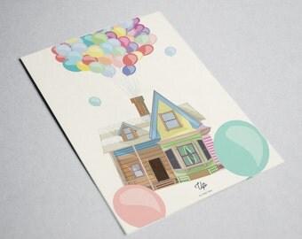 """""""Balloons"""" card"""
