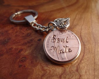 15th Wedding Anniversary Gift 2002 lucky copper Penny personalised girlfriend  gift for her gift for him 100% satisfaction guaranteed