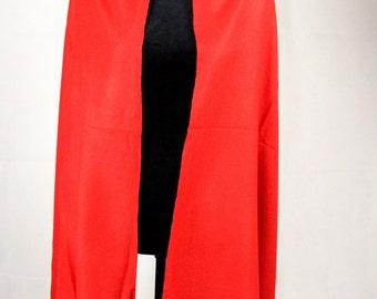 Elegant Cashmere Scarf Silk Pashmina Red Shawl/ Cashmere Pashmina Scarf/ Cashmere Pashmina Wrap/ Cashmere Bridesmaid Shawl / Travel Blanket