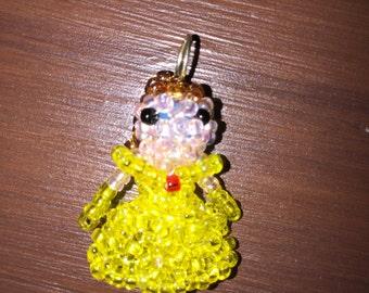 Bell doll pendant.