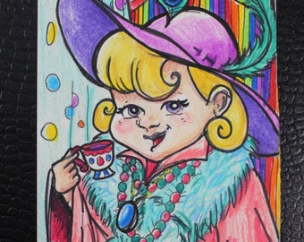 February Artist/Sketch Cards Group #1 AECO