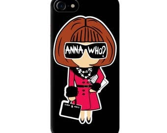 Anna Who iPhone Case, Anna Wintour iphone case by Socialitte