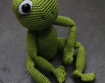 Sam the Frog - Pattern