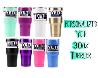 YETI / 30oz Yeti / Personalized Cup / Monogrammed YETI / RTIC cup / Travel Mug / Gift for Her / Vacation / Rambler / Tumbler / Custom Yeti