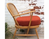 Ercol Mid Century Blonde Easy Chair