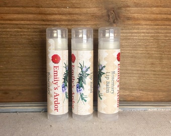 BULK ORDERING**Rosemary Lip Balm/ Lip Balm/ All Natural Lip Balm/ Handmade Lip Balm