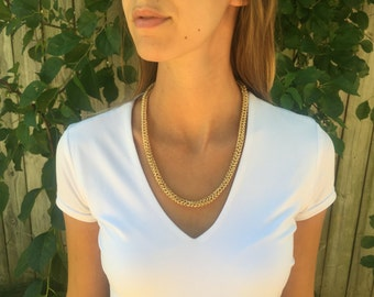 Half Persian Gold Necklace