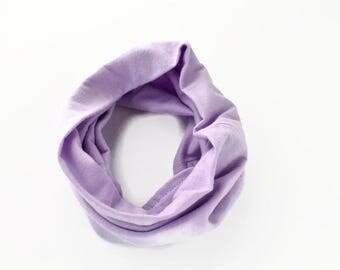 Mauve Baby Tube Scarf  - Baby Infinity Scarf - Kid Infinity Scarf - Spring Fashion - Modern Tube Scarves - Infinity scarf - Lace Scarf