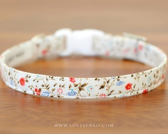 Rose Garden Cat Collar