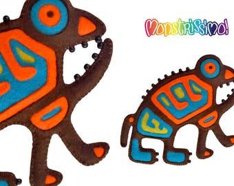 Creature Felt Toy