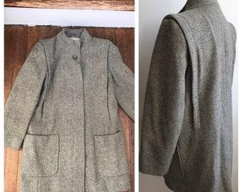 Tweed coat   Etsy