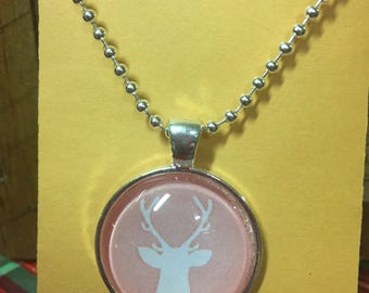 Necklace with Deer Pendant