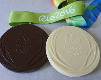 Personalised Chocolate Olympic Medals, chocolate dark milk chocolate, birthday gift, Mothers Day gift, worlds best dad.