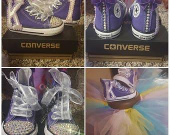 Toddler High Top Bling Converse