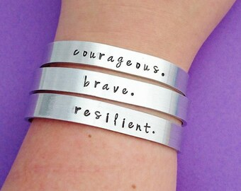 Choose your phrase bracelet
