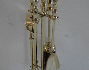 Pretty Brass Fireplace accessories/ Fireplace tools