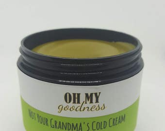 Not Your Grandma's Cold Cream