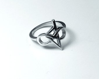 Corsica in 925 Silver infinity ring
