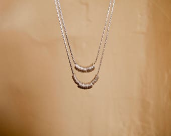 Wrapped in Time, Sterling Silver Necklaces