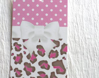 100 FASHION TAGS CLOTHING Tags Accessories Tags Price Tags  Cute Animal Print With White Bow Retail Tags with  Plastic Loops