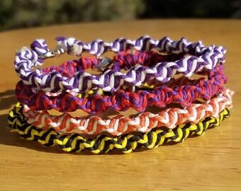 Boho Spiral Hemp Bracelets FREE SHIPPING
