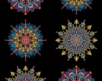 Benartex - Kismet - Multi - Manadals - by Paula Nadlestern - Panel