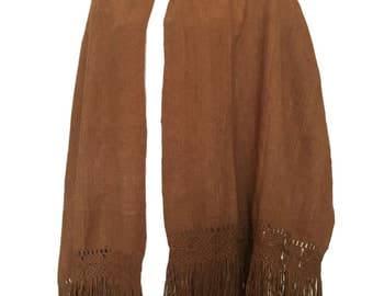 Vintage 100% Vicuna Wool Scarf / Wrap / Shawl