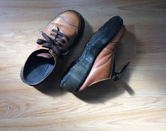 Vintage Dr Martens // Made in England // Size 6 UK Size 8 US // Womens Shoes // Dr Martens 8 // Slip on Shoes