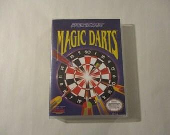 Magic Darts  Custom NES - Nintendo Case (No Game)