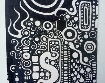 Dreamtime - A4 Print